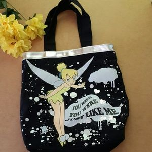 Tinkerbell Tote with Sasdy Saying